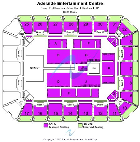 Entertainment Centre Seating Adelaide Adelaide Entertainment Centre