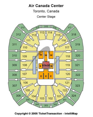 sears center  seating chart