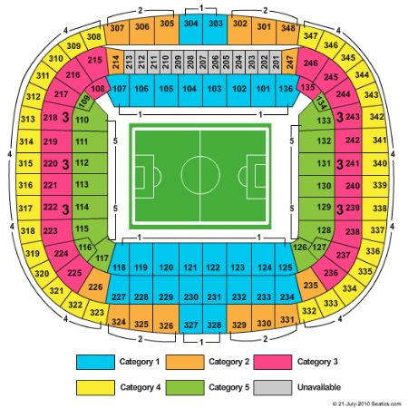 Allianz Arena Tickets And Allianz Arena Seating Chart