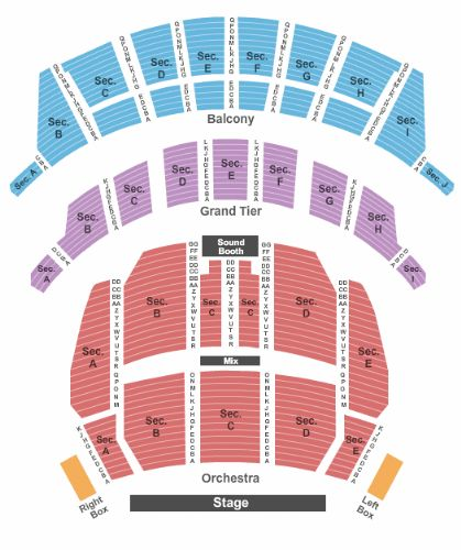 Altria Theater Tickets And Altria Theater Seating Chart