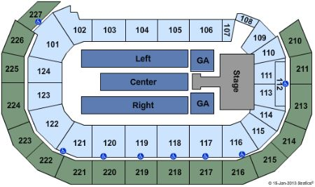 AMSOIL Arena Tickets and AMSOIL Arena Seating Chart - Buy ...