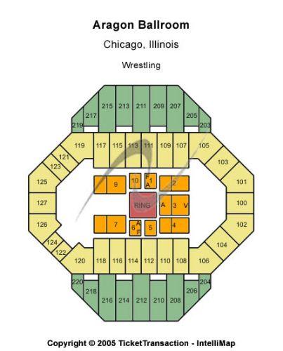 Aragon Ballroom Tickets And Aragon Ballroom Seating Chart