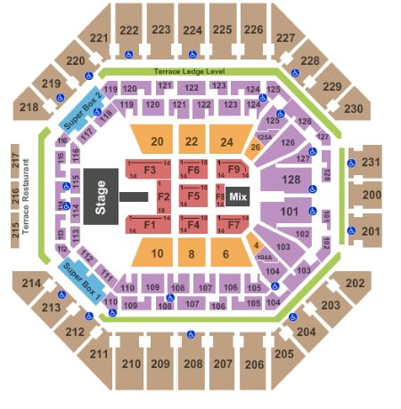 At Amp T Center Tickets And At Amp T Center Seating Chart Buy At