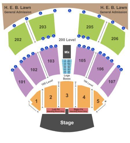 Austin360 Amphitheater Tickets and Austin360 Amphitheater ...