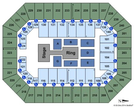 Baton Rouge River Center Arena Tickets and Baton Rouge ...