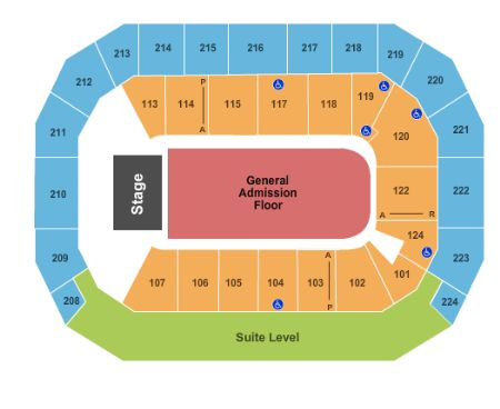Baxter Arena Tickets and Baxter Arena Seating Chart - Buy ...