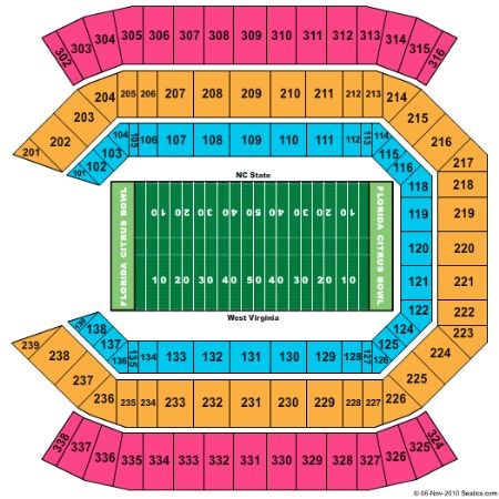 Florida Citrus Bowl Tickets And Florida Citrus Bowl