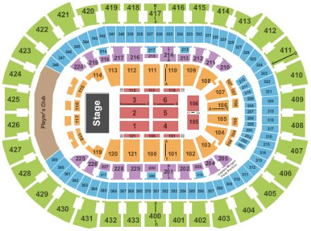 Verizon Center Tickets And Verizon Center Seating Chart Buy - Verizon center seating map