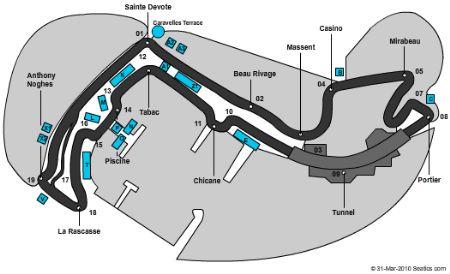 Circuit De Monaco Tickets And Circuit De Monaco Seating
