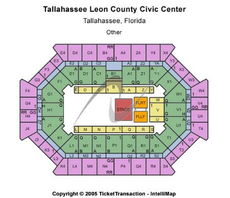 Donald L Tucker Center At Tallahassee Leon County Civic