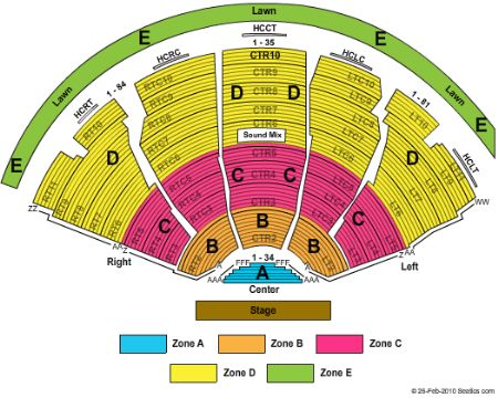 DTE Energy Music Theatre Tickets and DTE Energy Music ...