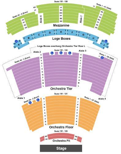 Eisemann Center Tickets And Eisemann Center Seating Chart