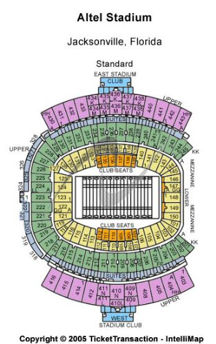 EverBank Field Parking Lot Tickets And EverBank Field