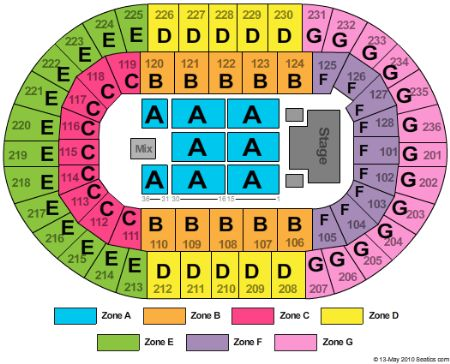 Seating Chart Los Angeles Coliseum Angeles Coliseum Seating