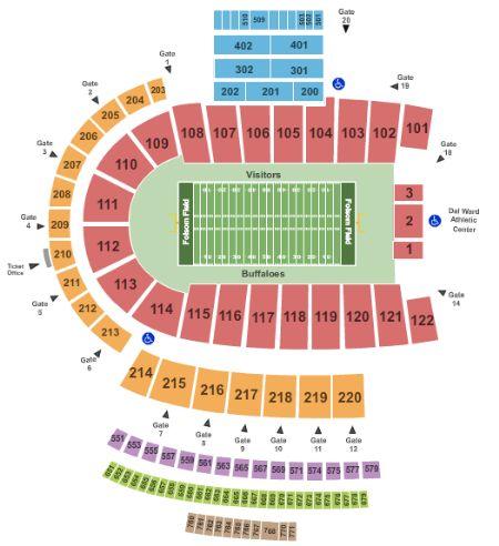 Folsom field tickets and folsom field seating chart buy folsom