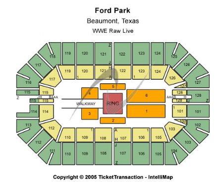 Ford park pavilion tickets and ford park pavilion seating chart