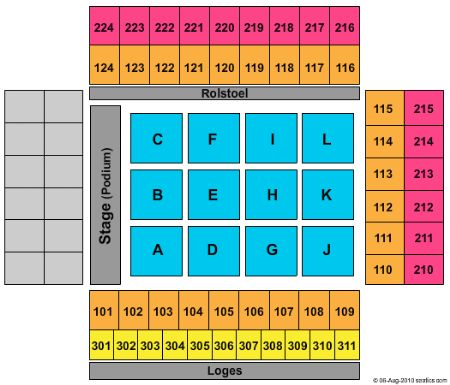 Gelredome Tickets and Gelredome Seating Chart - Buy ...