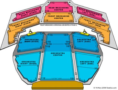 Gershwin Theatre Tickets And Gershwin Theatre Seating