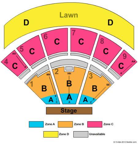 San manuel amphitheater seating chart keni ganamas co