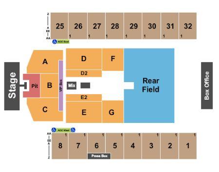Hershey Stadium Seating Chart Jason Aldean Hershey Park Stadium