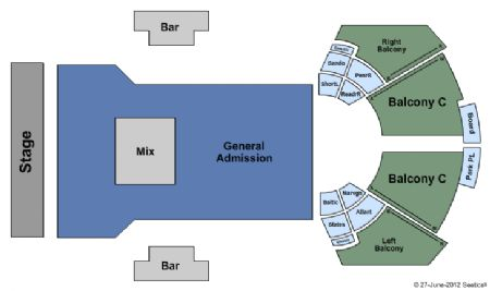 House Blues Tickets and House Blues Seating Chart Buy
