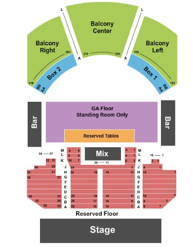 House of blues tickets and house of blues seating chart buy