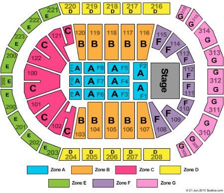 gwinnett arena seating chart: Infinite energy arena tickets and infinite energy arena seating