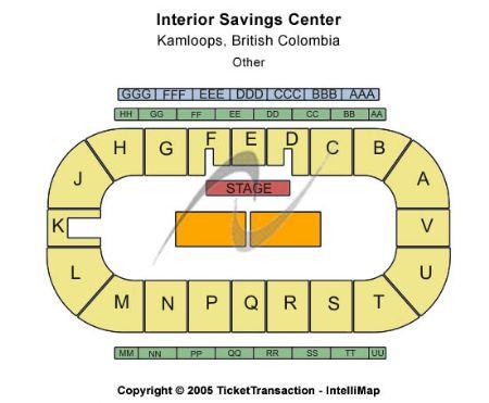 Interior Savings Centre Tickets and Interior Savings ...