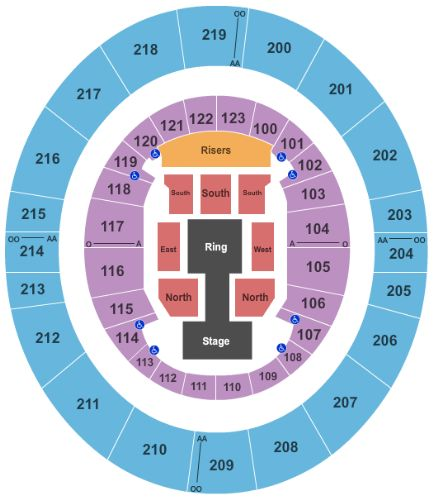 ISU Hulman Center Tickets and ISU Hulman Center Seating Chart ...