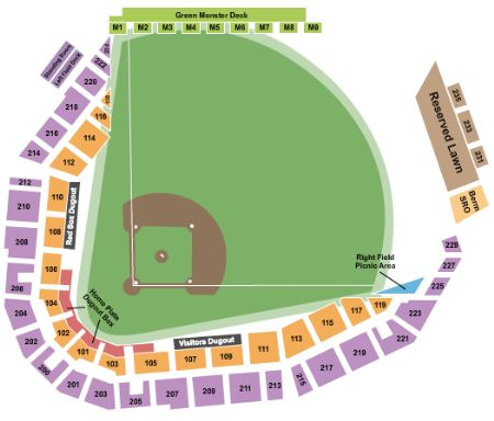 jetblue park at fenway south tickets and jetblue park at fenway south seating chart buy. Black Bedroom Furniture Sets. Home Design Ideas