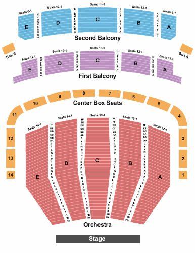 Keller Auditorium Tickets and Keller Auditorium Seating ...
