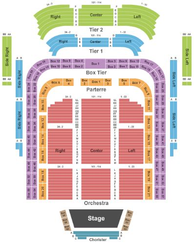 radio city music hall detailed seating chart pdf