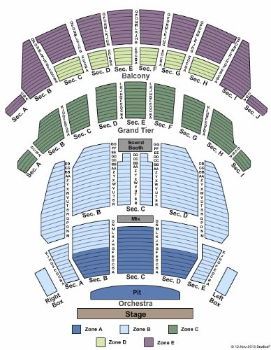 Landmark Theater Tickets And Landmark Theater Seating