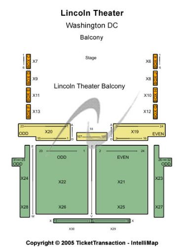 Lincoln theatre tickets and lincoln theatre seating chart buy