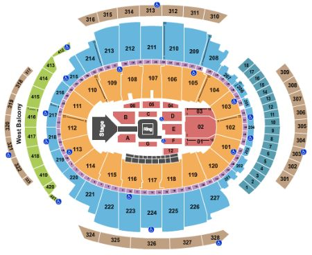 Madison Square Garden Tickets And Madison Square Garden Seating Chart Buy Madison