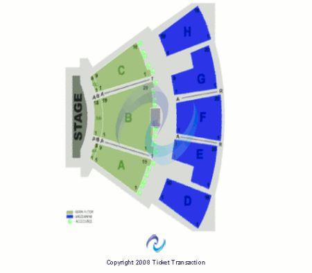 Mandalay Bay Theatre Seating Map Mandalay Bay Theatre