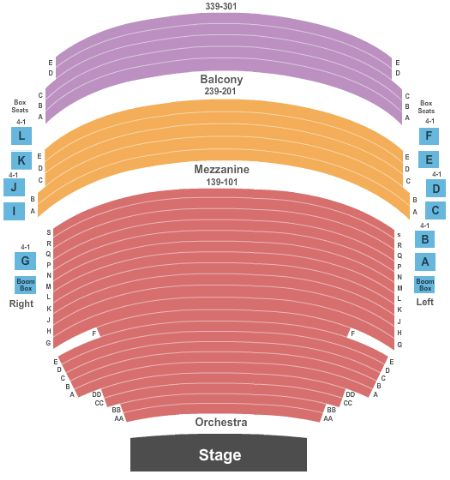 Mccallum theatre tickets and mccallum theatre seating chart buy