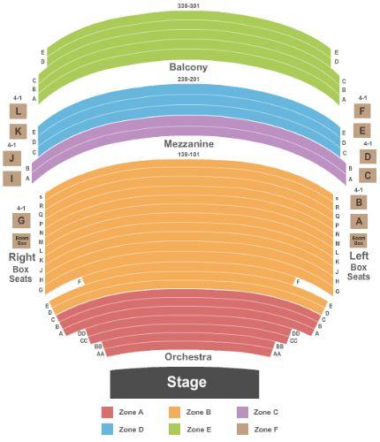Broadway Theatre Broadway Seating Charts