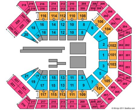 MGM Grand Garden Arena Tickets and MGM Grand Garden Arena ...