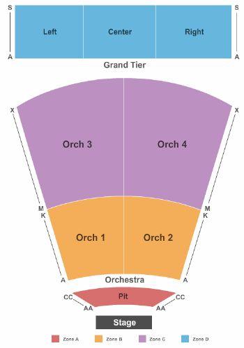 North Charleston Performing Arts Center Tickets and North ...