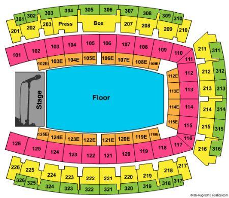 Palau Sant Jordi Tickets And Palau Sant Jordi Seating