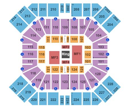 wwe live tickets 5 7 2016 pan american center in las
