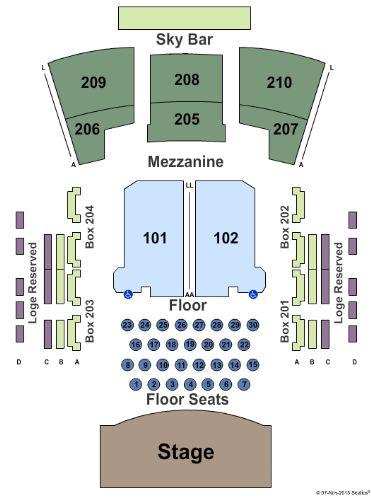 Paramount theatre tickets and paramount theatre seating chart