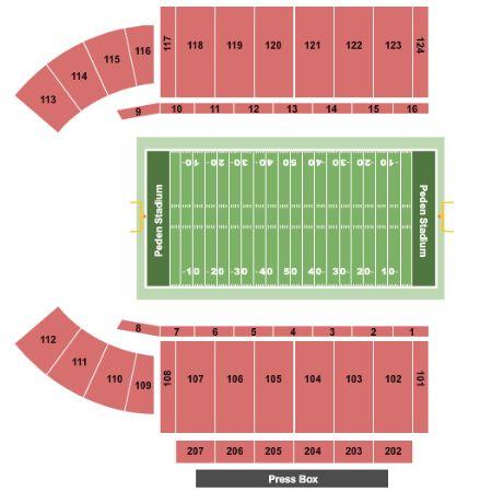 Nippert Stadium Seating Chart