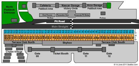 Pocono raceway tickets and pocono raceway seating chart buy