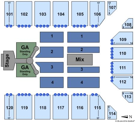 Reno events center tickets and reno events center seating chart
