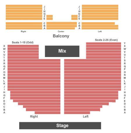 Rialto Theatre Tickets And Rialto Theatre Seating Chart