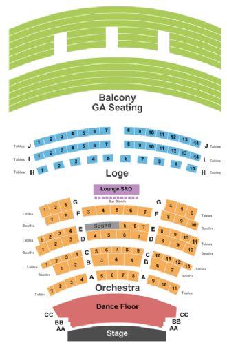 Rococo Theatre Tickets And Rococo Theatre Seating Chart