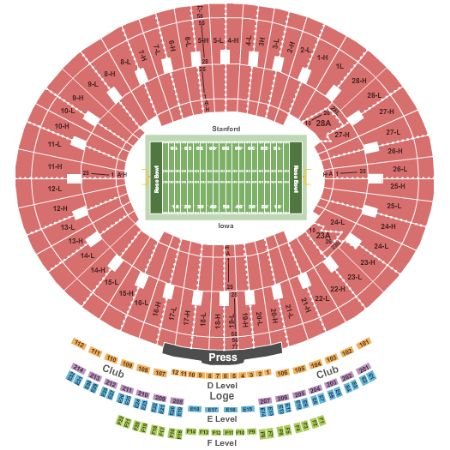 rose bowl tickets and rose bowl seating chart buy rose