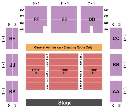 Roseland theater seating chart heart impulsar co